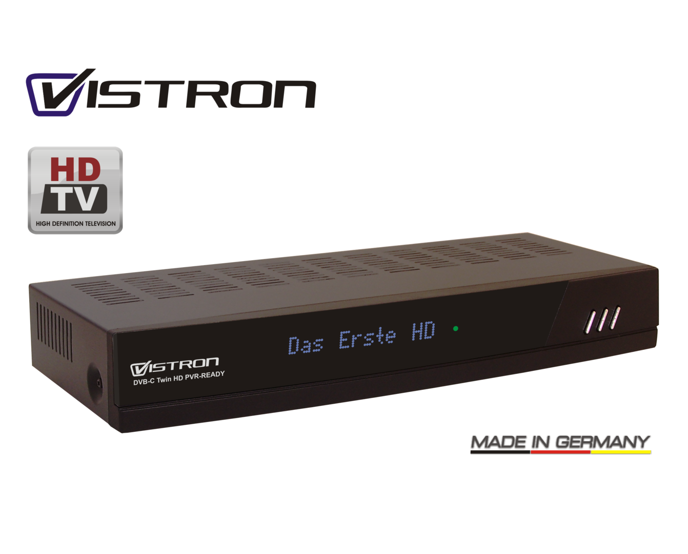 vistron vt 530 dvb c hd twin pvr ready hl elektronik 24. Black Bedroom Furniture Sets. Home Design Ideas